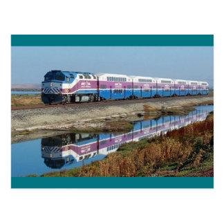 Carte postale - navette du CÆ, la Californie