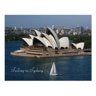 Carte Postale Navigation à Sydney