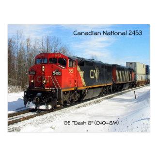 """Carte Postale NC canadienne 2453 de ressortissant - GE """"se"""