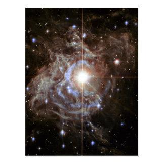 Carte Postale Nébuleuse de l'espace - RS Puppis d'étoile