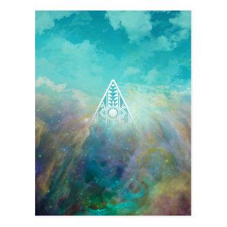 Carte Postale Nébuleuse impressionnante d'Orion de triangle de