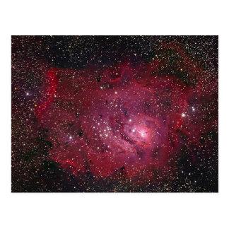 Carte Postale Nébuleuse NGC 6523 de la lagune M8