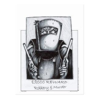 Carte Postale Ned Kelly (affiche voulue)