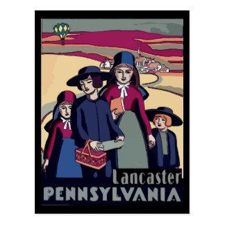 Carte Postale Néerlandais de Pennsylvanie, Lancaster, pays amish