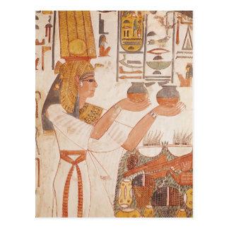 Carte Postale Nefertari faisant une proposition