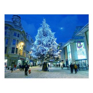 Carte Postale Neige à Cardiff