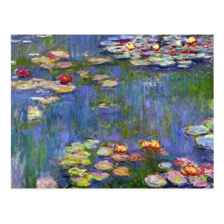 Carte Postale Nénuphars 1916 de Monet