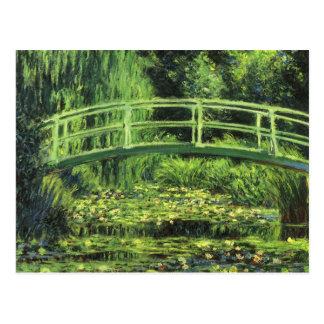 Carte Postale Nénuphars blancs par Claude Monet, art vintage