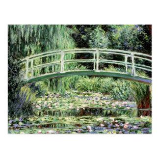 Carte Postale Nénuphars de blanc de Claude Monet |, 1899