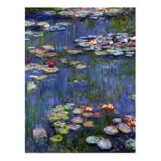 Carte Postale Nénuphars de Claude Monet