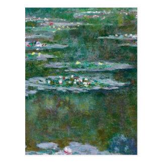 Carte Postale Nénuphars de Claude Monet //