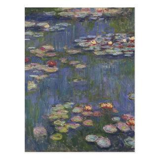 Carte Postale Nénuphars par Claude Monet