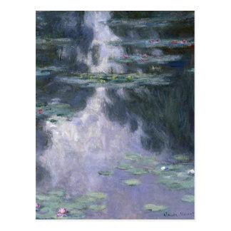 Carte Postale Nénuphars par Claude Monet.