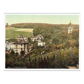 Carte Postale Neroberg, magnifi de Wiesbaden, Hesse-Nassau,