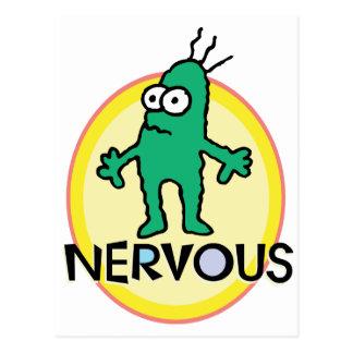Carte Postale Nerveux