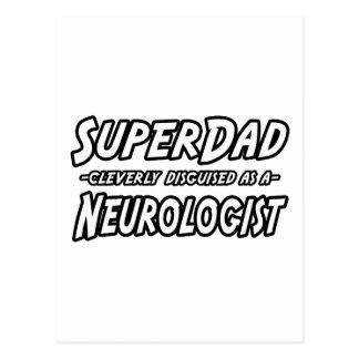 Carte Postale Neurologue de SuperDad…