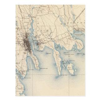Carte Postale New Bedford, le Massachusetts