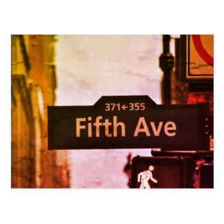 Carte Postale New-York cite usa vintage color