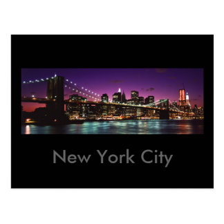 Carte Postale New York City