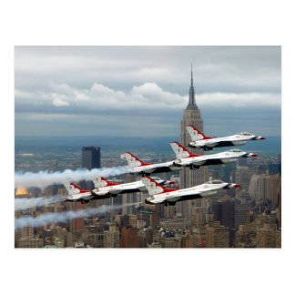 Carte Postale New York City du F-16