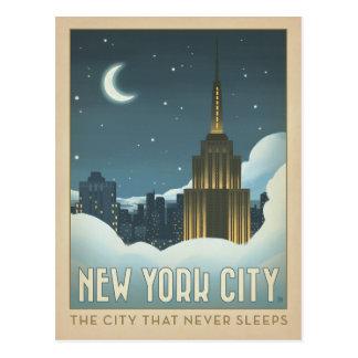 Carte Postale New York City | la ville qui ne dort jamais