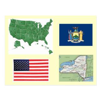 Carte Postale New York, Etats-Unis