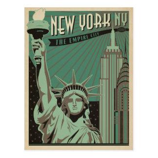 Carte Postale New York - la ville d'empire
