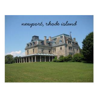Carte Postale Newport, manoir d'Île de Rhode