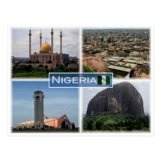 Carte Postale NG Nigéria -