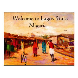 Carte postale - Nigéria