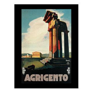 Carte Postale Nizzoli Agrigente Sicile Italie