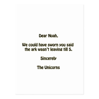 Carte Postale Noé