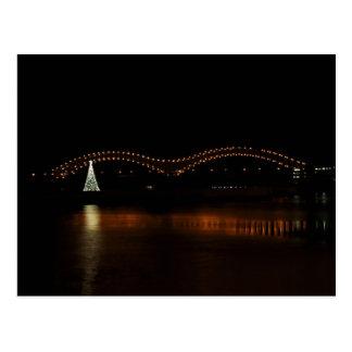 Carte Postale Noël à Memphis