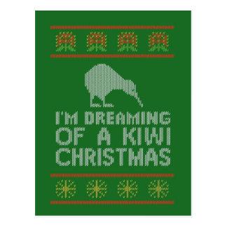 Carte Postale Noël de kiwi