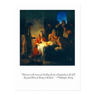 """Carte Postale """"Noël est la saison """""""