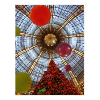 Carte Postale Noël • Galeries Lafayette