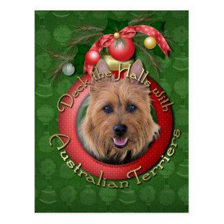 Carte Postale Noël - plate-forme les halls - terriers