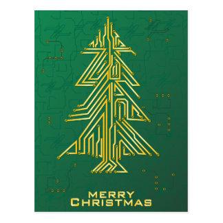 Carte Postale Noël pour le geeks