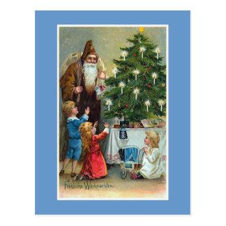 """Carte Postale Noël vintage de """"Frohliche Weihnachten"""""""