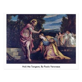 Carte Postale Noli je Tangere, par Paolo Veronese