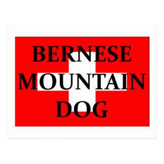 Carte Postale nom Suisse flag.png de chien de mt de jujubes