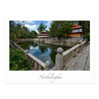 Carte Postale Norbulingka Lhasa Thibet