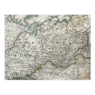 Carte Postale Nord et Asie centrale