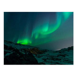Carte Postale northern lights