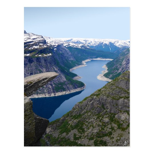 Carte Postale Norway - Trolltunga