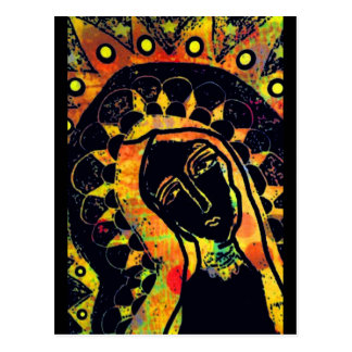 Carte Postale Notre Madame de Guadalupe
