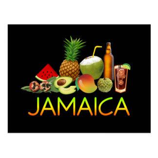 Carte Postale Nourriture jamaïcaine