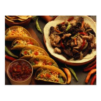 Carte Postale Nourriture mexicaine