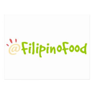 Carte Postale Nourriture philippine