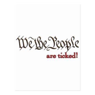 Carte Postale Nous les personnes… sommes faits tic tac !